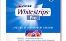 Testé par la rédaction : Crest Whitestrips, pour le blanchiment des dents... Un peu cher mais ça marche !